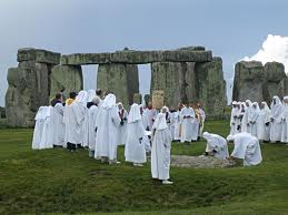 The Druids have long been associated with Stonehenge in popular imagination even though it was built thousands of years before the Celts came to Britain