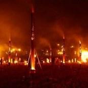 Fire Garden Stonehenge Tour 2012