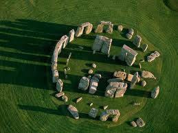 Fly over Stonehenge