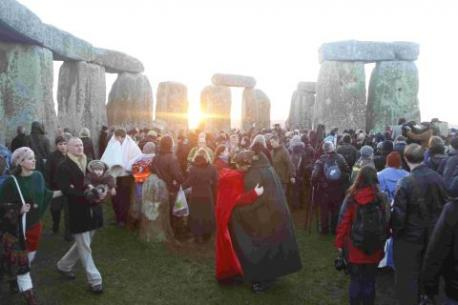 Stonehenge Winter Solstice 2012