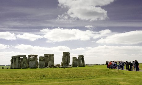 One of the mysteries of Stonehenge is how some of its stones were brought from Pembrokeshire in Wales to Wiltshire. Photograph: I Capture Photography/Alamy
