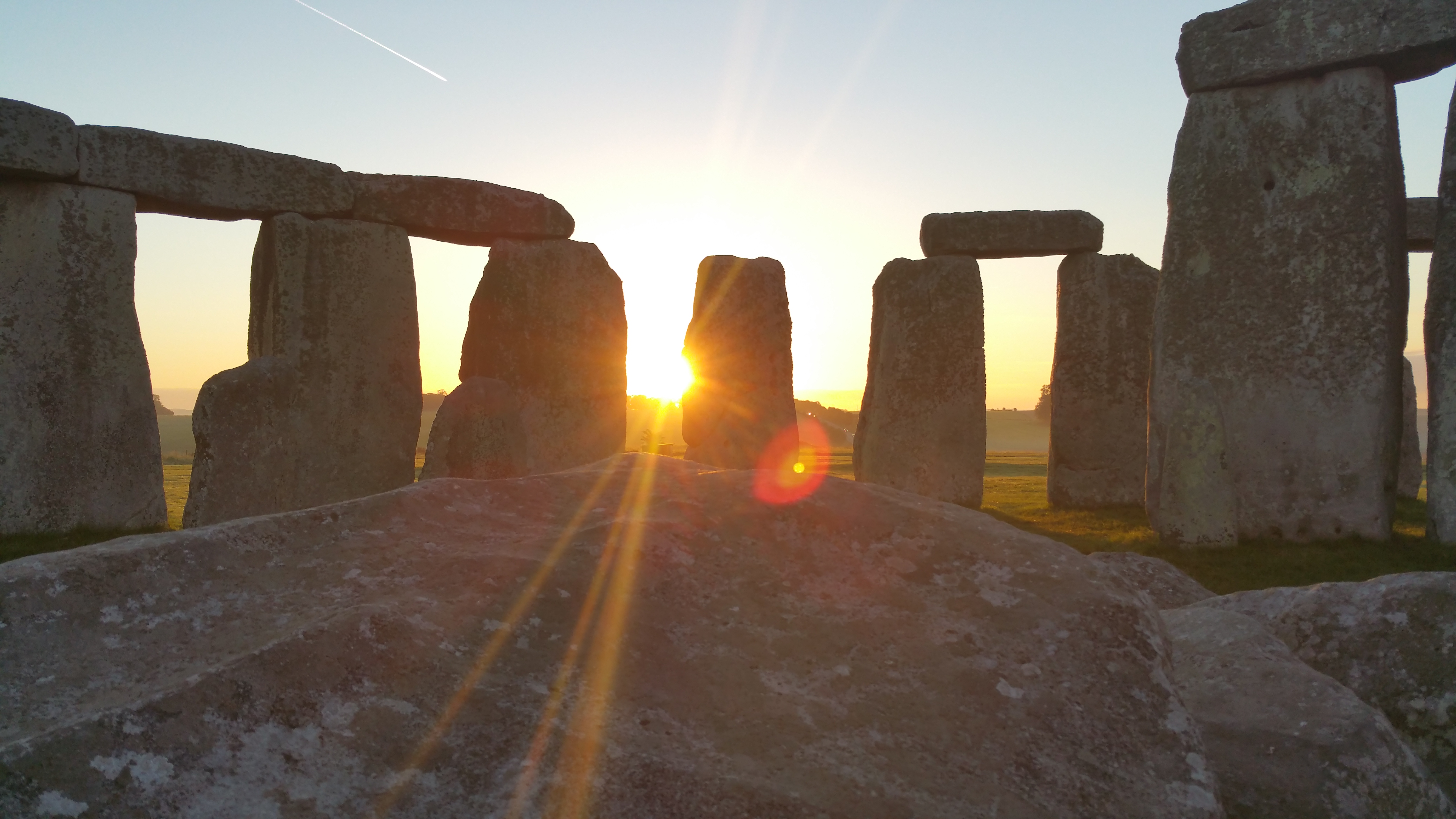Experience sunrise / sunset from within the inner circle of Stonehenge.  Magical!