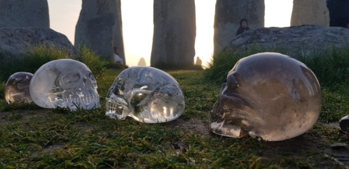 Harnessing the Power of Stonehenge Ley Lines. It is believed Stonehenge like many other power places emits energy and the ancients knew the power of the circle to focus and harness this energy. Photo taken at a crystal skull gatherin